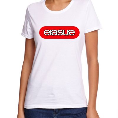 Remera estampada Erasure. A010