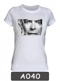 Remera estampada David Bowie. A040