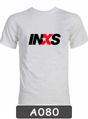 Remera estampada INXS. A080