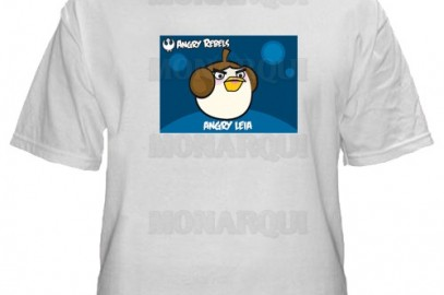 K009-Remera Angry birds star wars