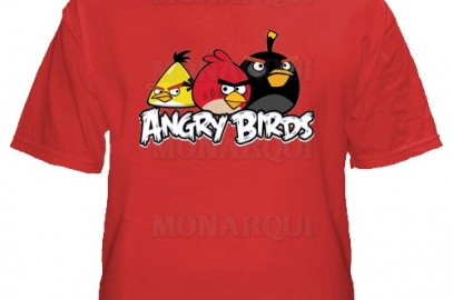K011-Remera Angry Birds