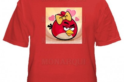 K013-Remera Angry Birds