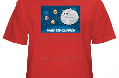K017-Remera Angry birds star wars.