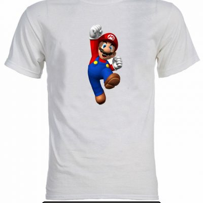 Remera estampada Mario Bros. K030