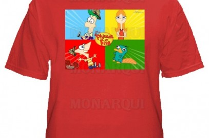 k092-Remera Phineas & Ferb
