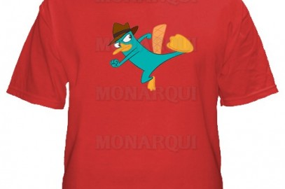k095-Remera Phineas & Ferb