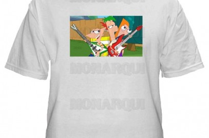 k099-Remera Phineas & Ferb